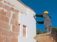 l'isolation par l'extérieur grâce à un double mur - Isoler Sa Maison Par L Exterieur Soi Meme