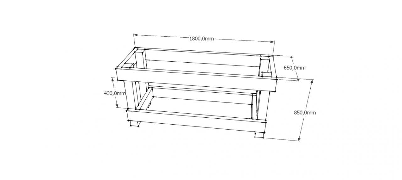Etabli en bois - Construction etabli en bois ...