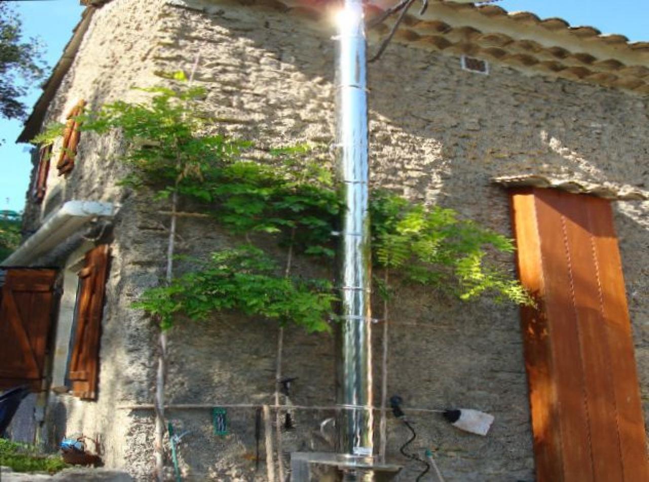 Remplacement chemin e par poele bois for Installer une cheminee dans une maison