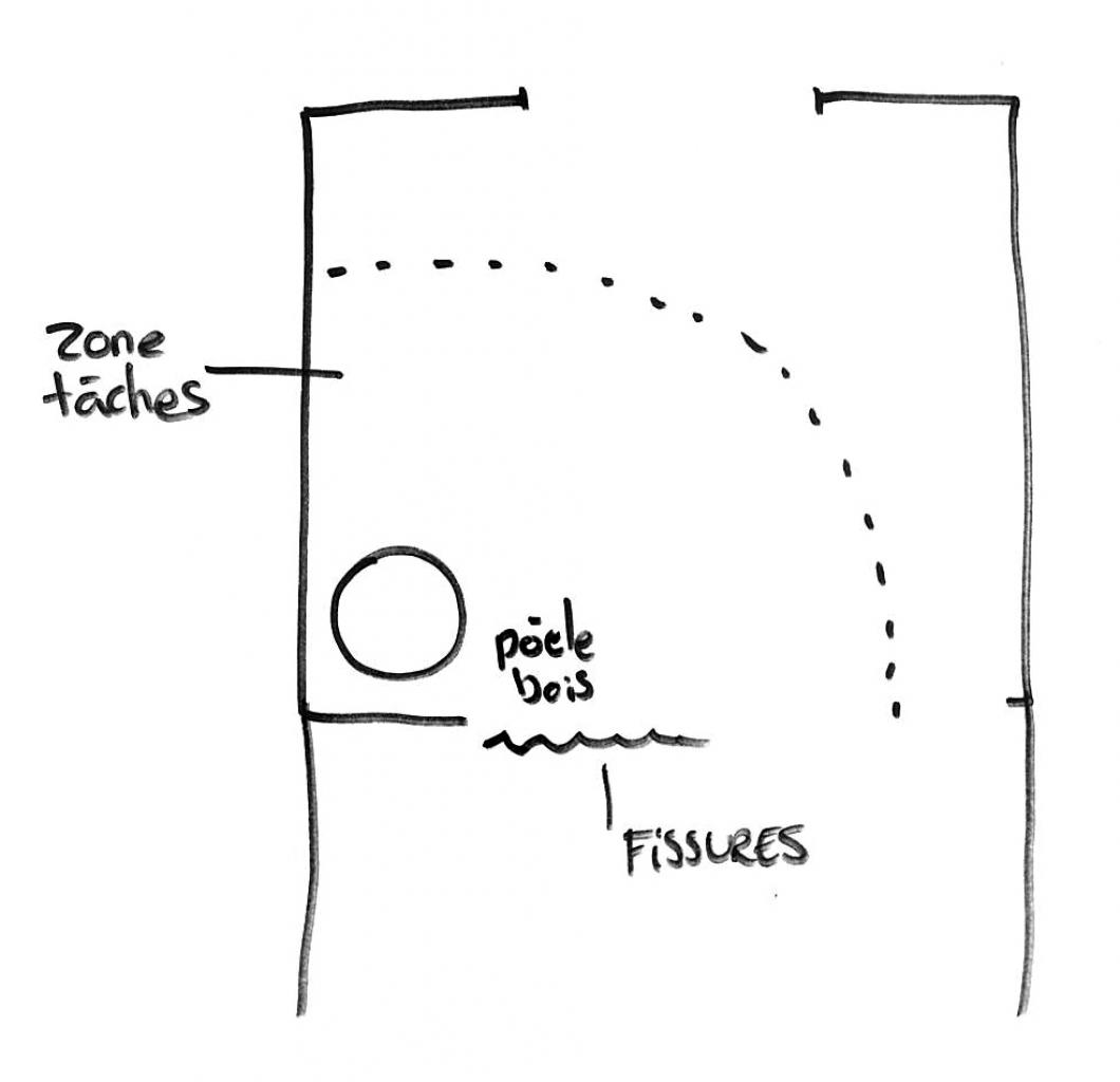 tache de vis au plafond. Black Bedroom Furniture Sets. Home Design Ideas