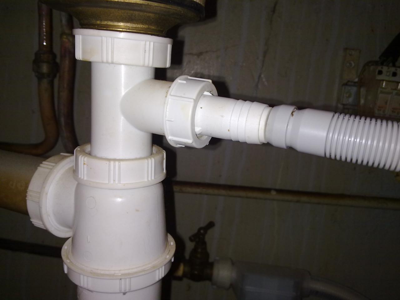 Tuyau Dévacuation Lave Vaisselle Incompatible Avec Siphon