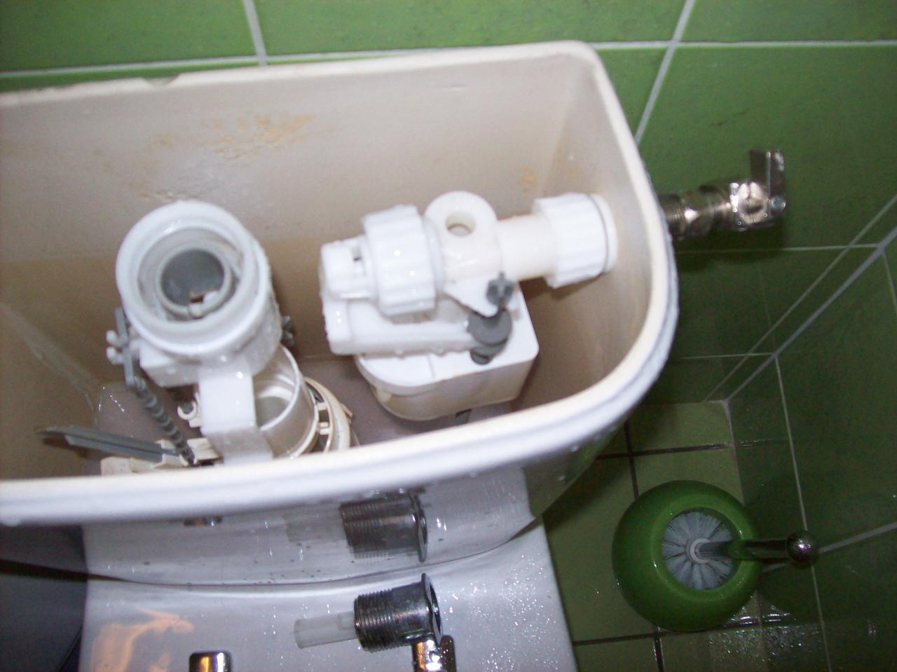 Probl me coulement chasse d 39 eau double flux for Mecanisme de chasse d eau
