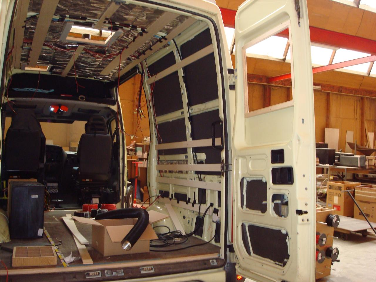 Assez amenager un camion pour camping car EJ67