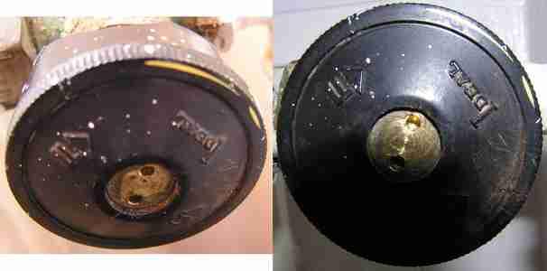 Bouton de robinet de radiateur - Robinet radiateur fonte ...