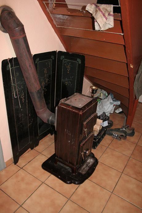 Isolant thermique poele a bois - Vieux poele a bois ...