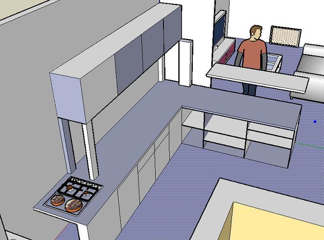 fabrication d 39 un bar buffet. Black Bedroom Furniture Sets. Home Design Ideas