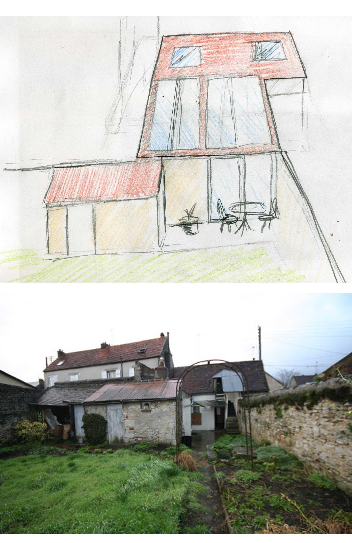 refaire toute la toiture et amenager les combles. Black Bedroom Furniture Sets. Home Design Ideas