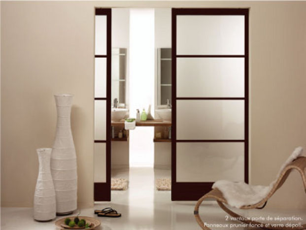 Lise porte de s paration on pinterest sliding doors - Separation piece leroy merlin ...