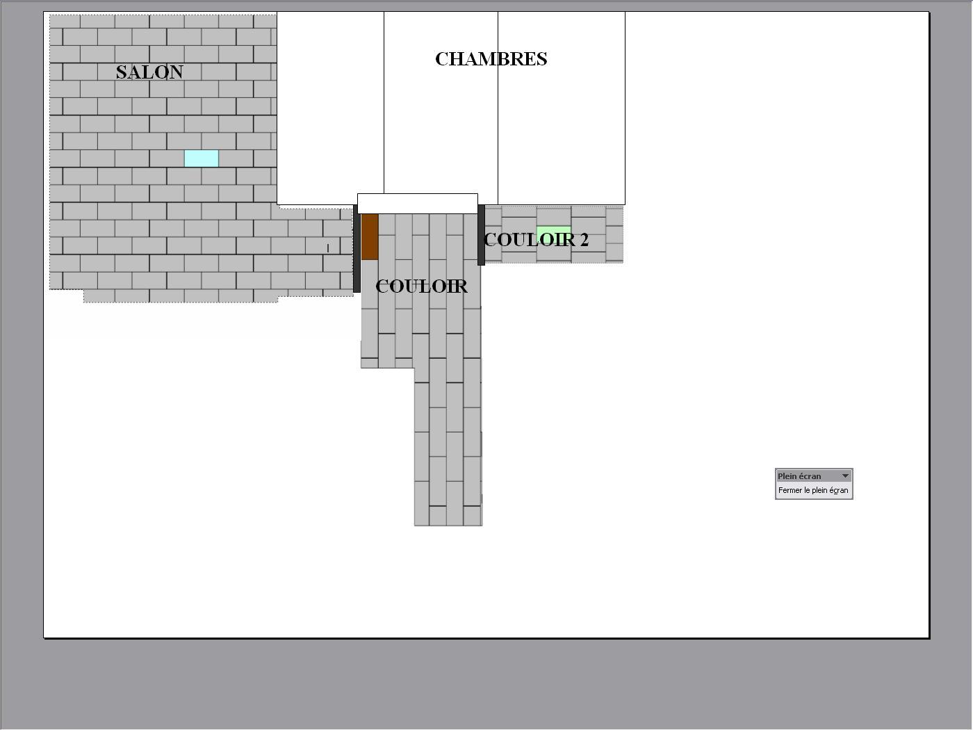 Pose carrelage salon 2 couloirs demande conseils for Plan de pose de carrelage