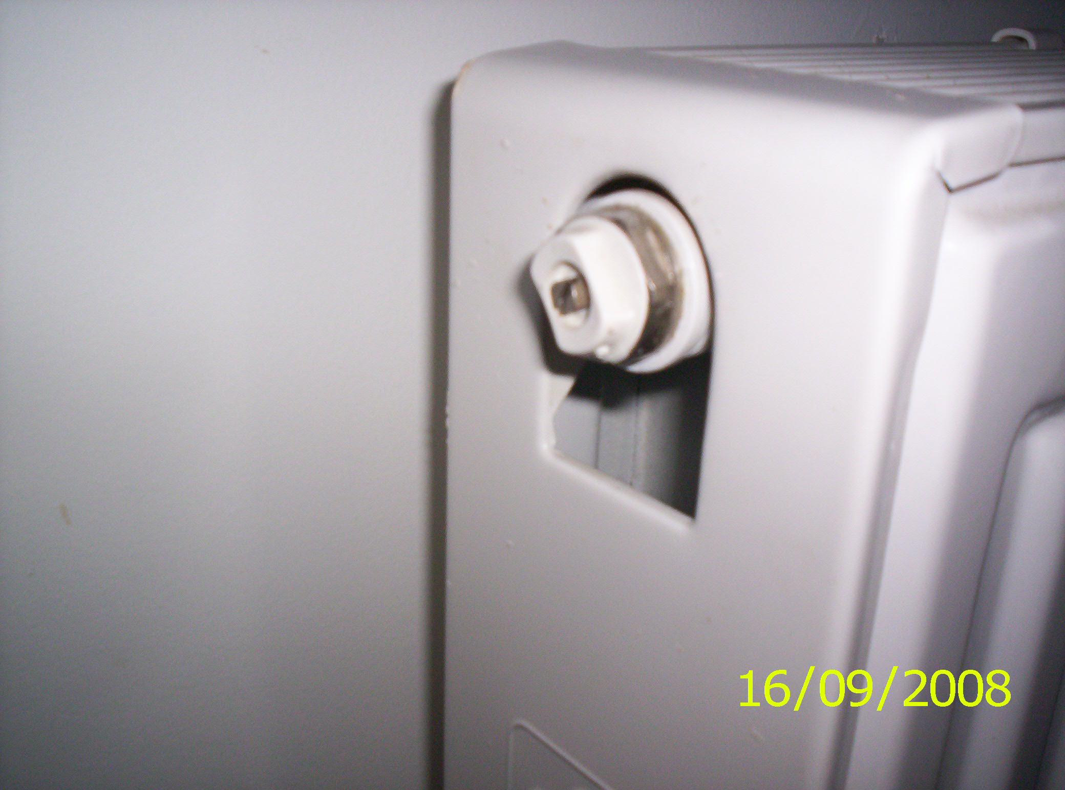 J 39 essaye de purger un radiateur mais rien n 39 en sort for Purge de radiateur de chauffage