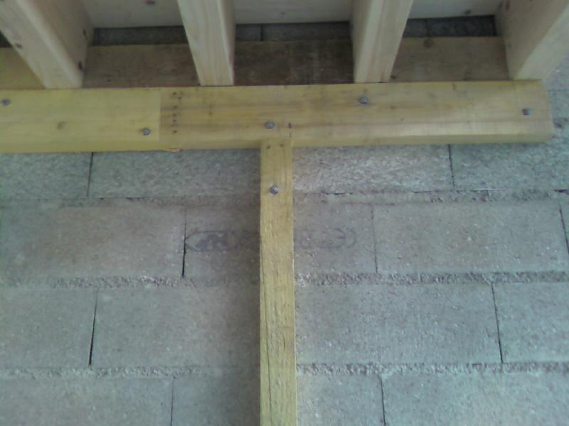 Plancher pour mezzanine - Faire un plancher en bois dans un garage ...