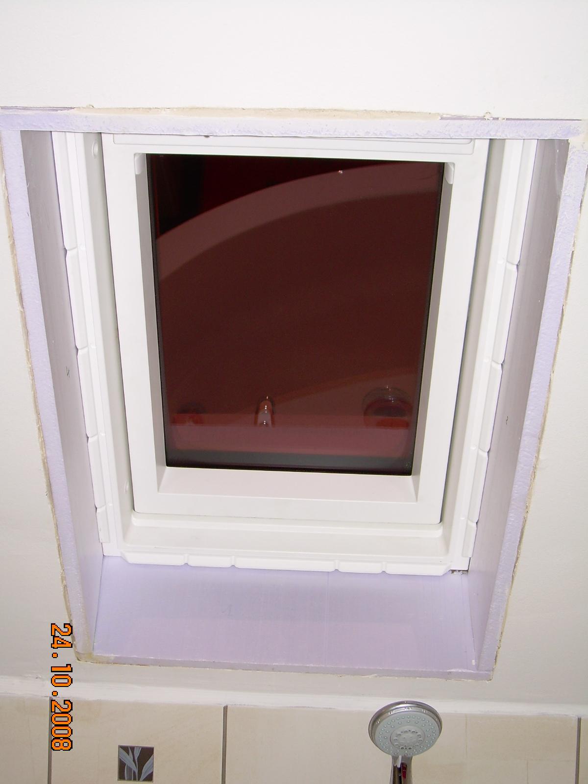 Condensation sur le raccord velux for Habillage interieur velux