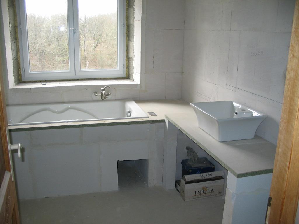Sur lever une baignoire for Baignoire et douche accolees