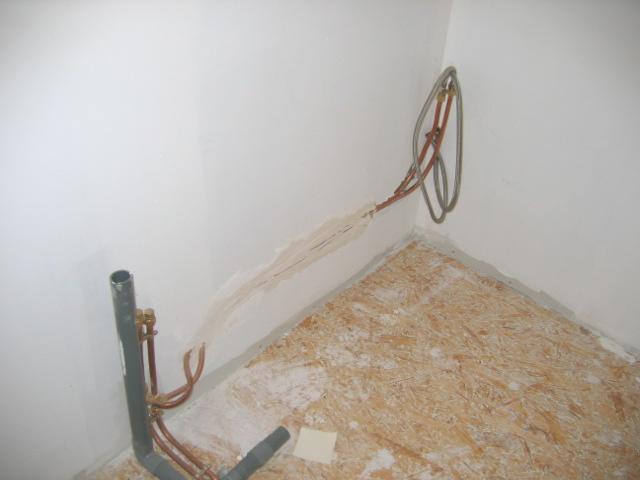 D placement alimentation d 39 eau de salle de bain - Arrivee d eau salle de bain ...