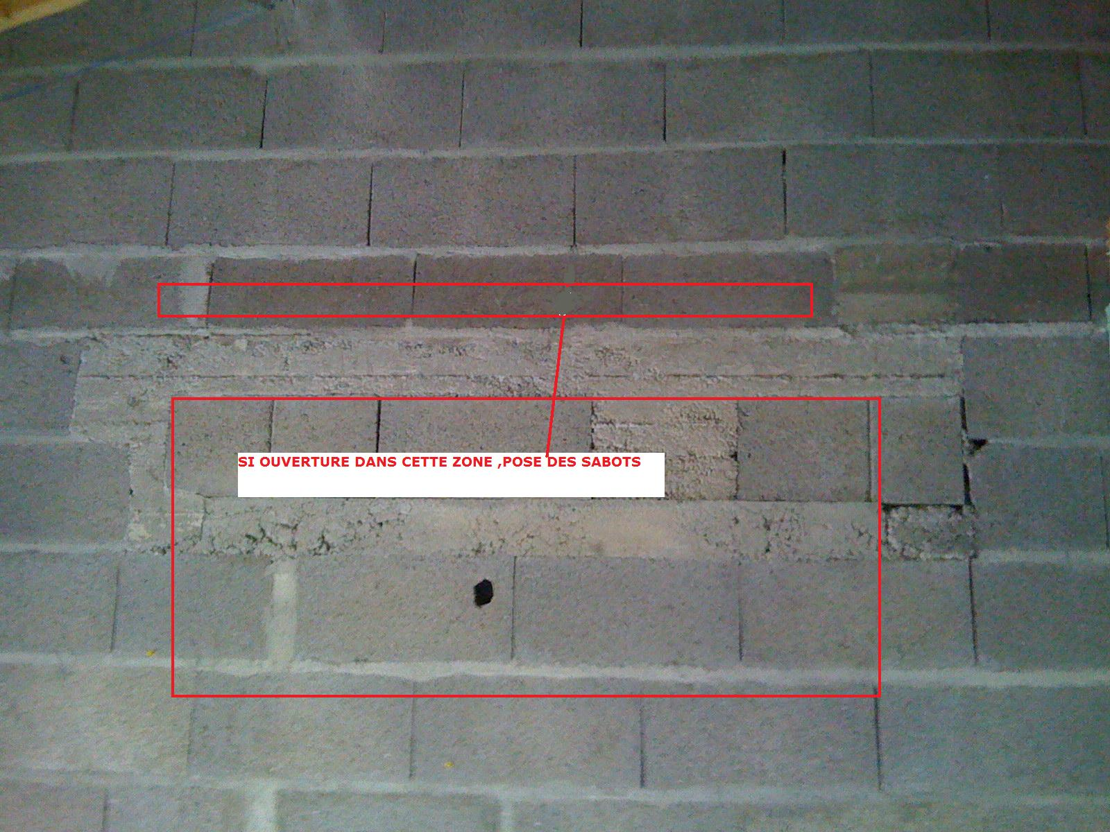 Linteau etrange et mezzanine ouverture - Faire un plancher bois dans un garage ...
