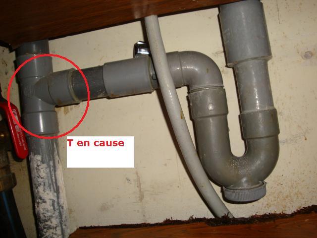 Evacuation lave vaisselle - Syphon evier avec evacuation lave vaisselle ...