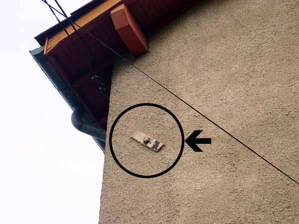 Croix de chainage pour mur en pis for Poser un calicot sur fissure