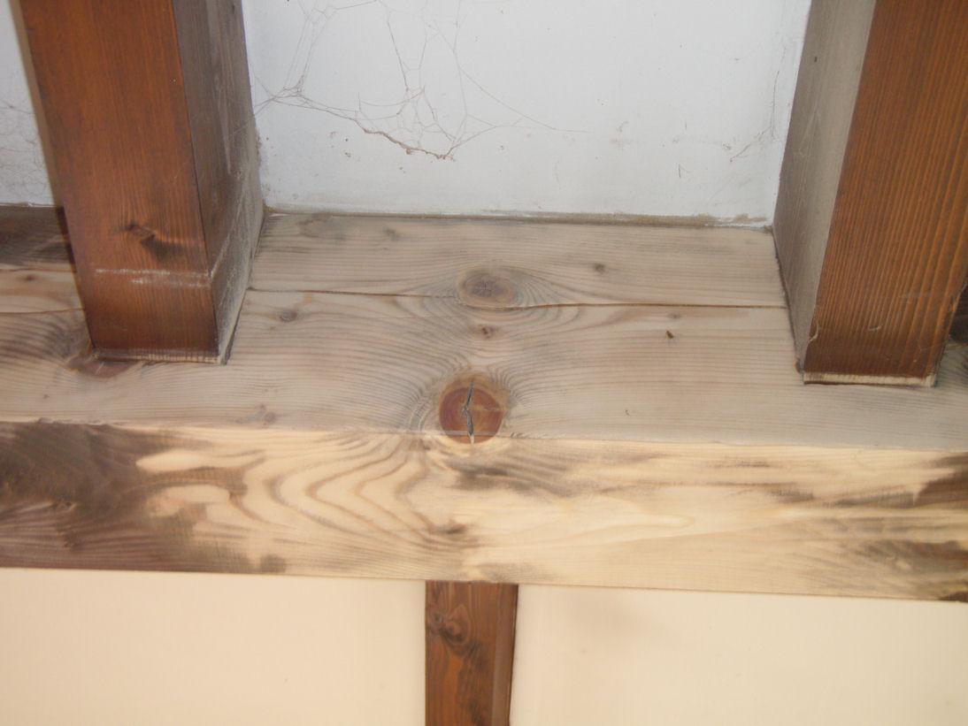 Poncer poutre bois for Peindre poutre bois