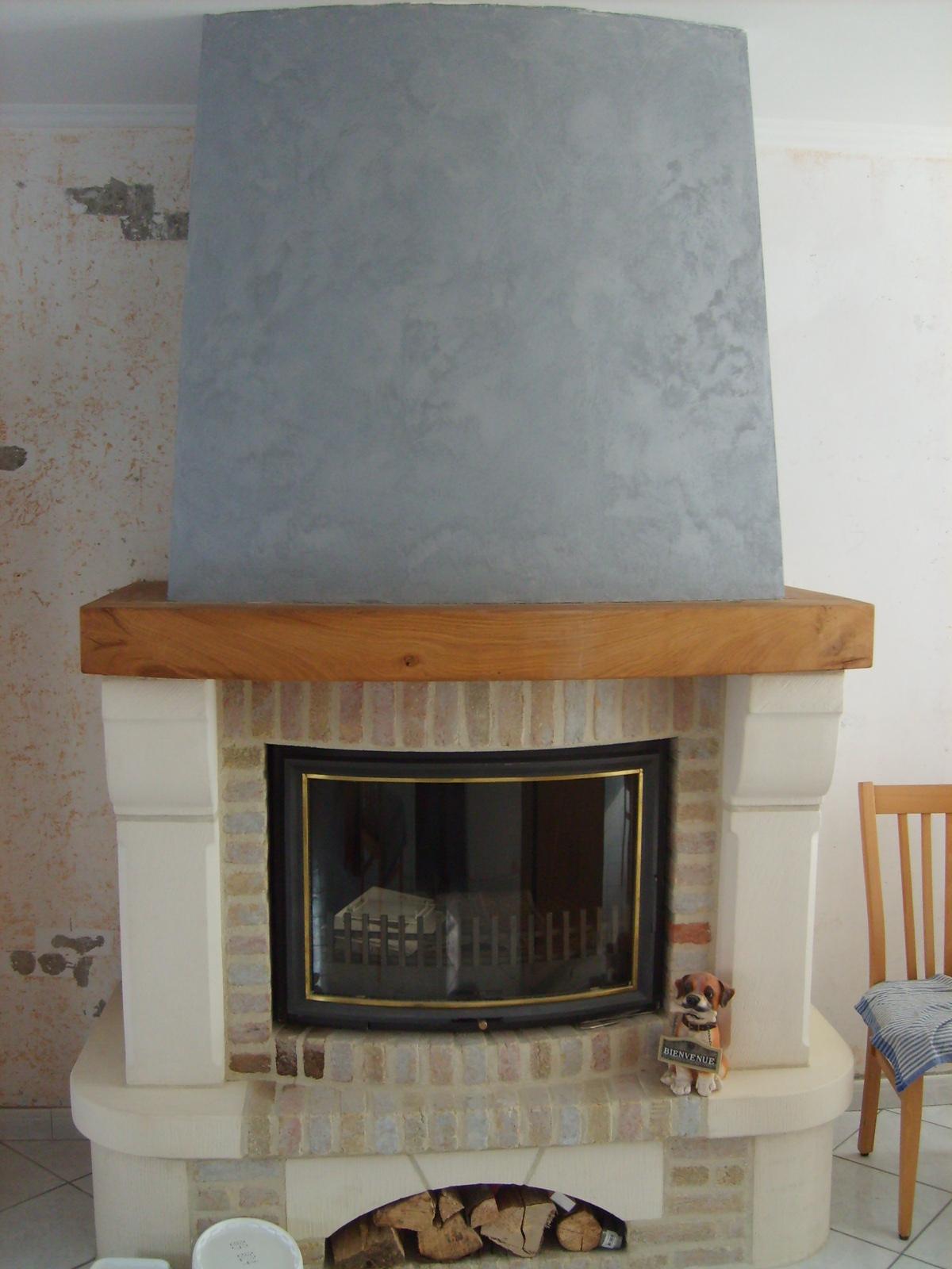 comment décorer hotte cheminee