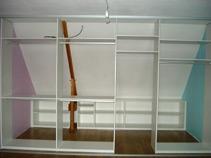 r alisation d 39 un dressing sous mansarde. Black Bedroom Furniture Sets. Home Design Ideas
