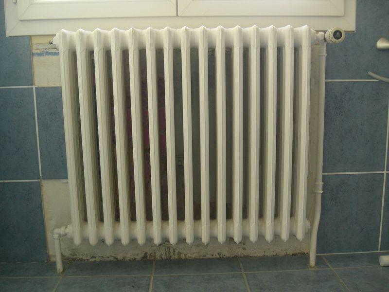 D montage radiateur fonte for Decaper un radiateur en fonte