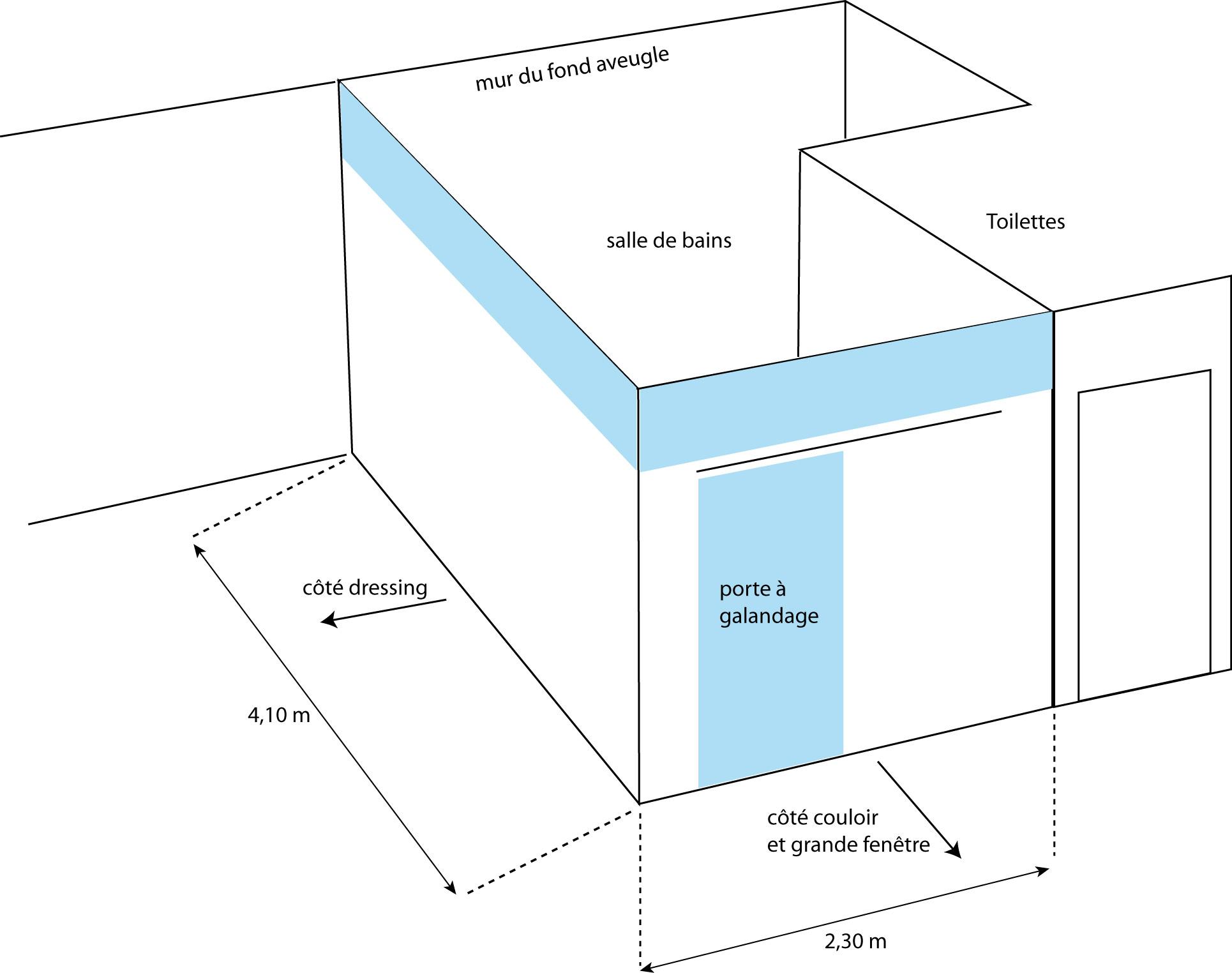 Montage de cloisons placo et cadre en verre sous plafond - Montage cloison placo ...