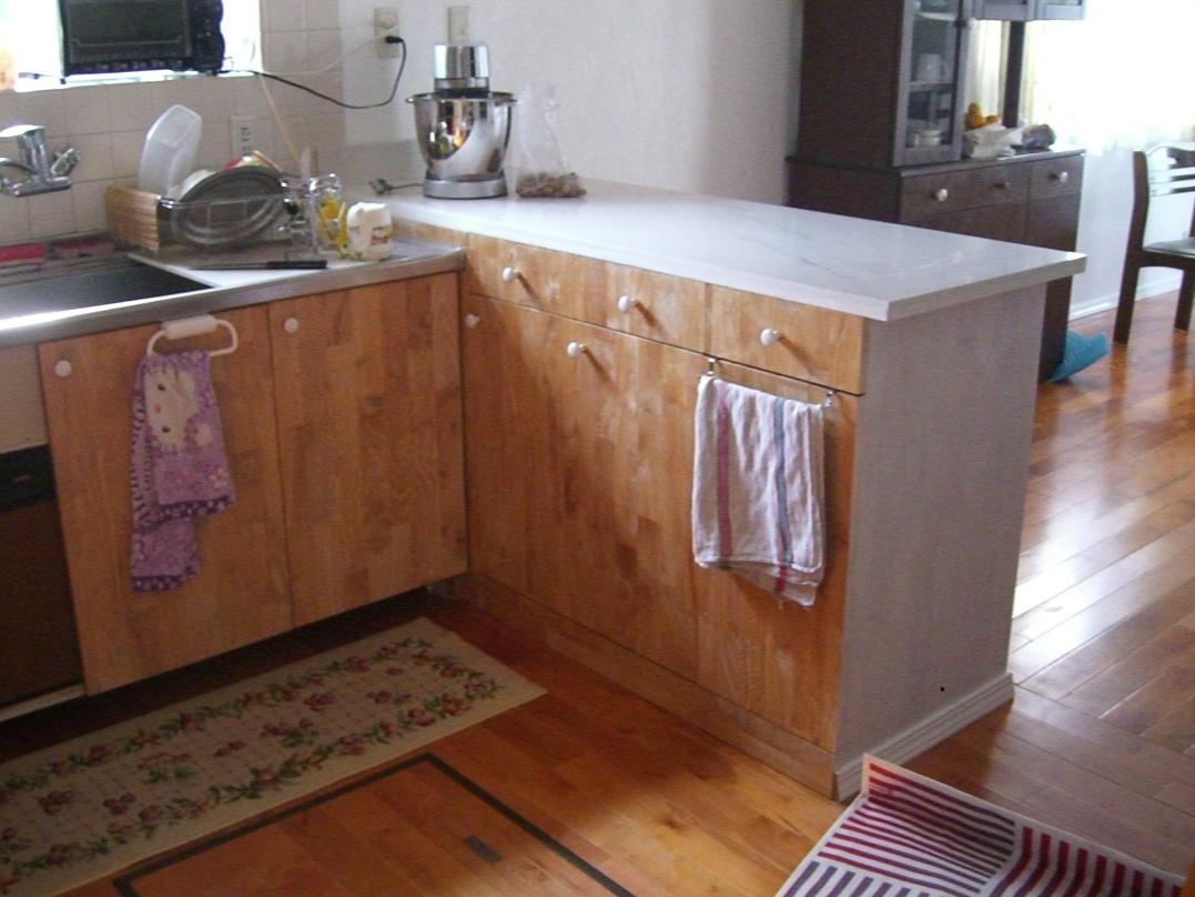 Fabrication comptoir pour cuisine l 39 americaine - Cuisine a l americaine ...