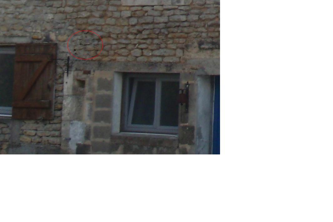 Passe Plat Mur Porteur. Trou Pour Vmc Mur Pierre Et Terre De 50Cm