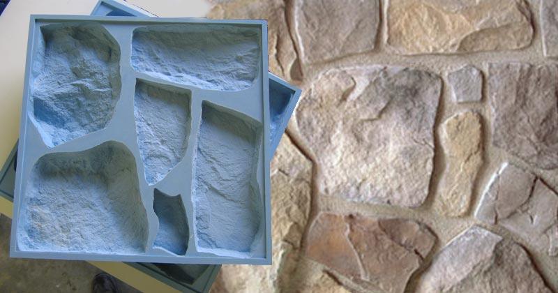 Moules pour plaquette de parement - Pierre de parement exterieur sans joint ...