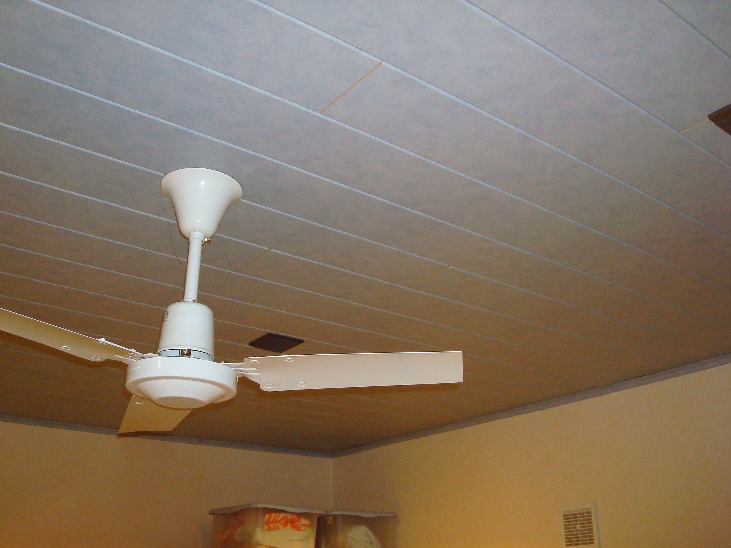 Recouvrir plafond for Refaire un faux plafond