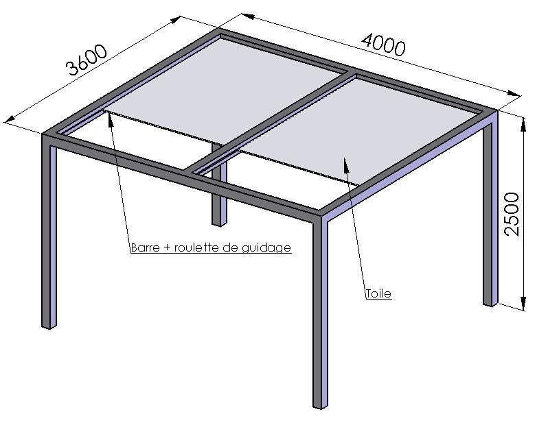 aide pergola tonnelle avec toile enroulable. Black Bedroom Furniture Sets. Home Design Ideas