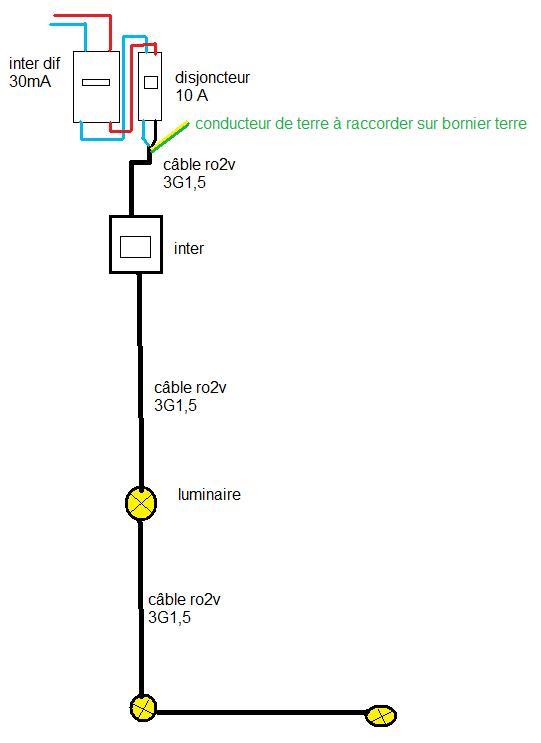 Schema electrique eclairage terrasse - Schema electrique eclairage ...