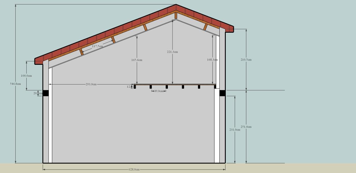 charpente agrandissement demande conseil. Black Bedroom Furniture Sets. Home Design Ideas
