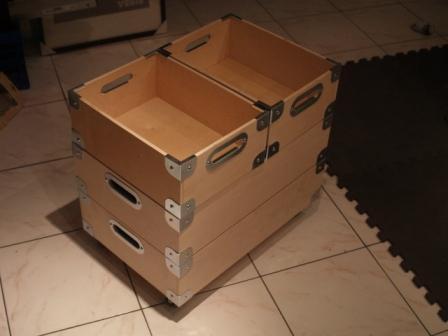 fabriquer bo te rangement coin de valise 2 faces. Black Bedroom Furniture Sets. Home Design Ideas