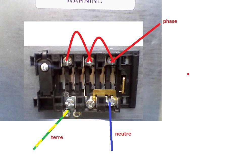 Branchemnet cuisiniere electrique - Comment brancher une cuisiniere ...