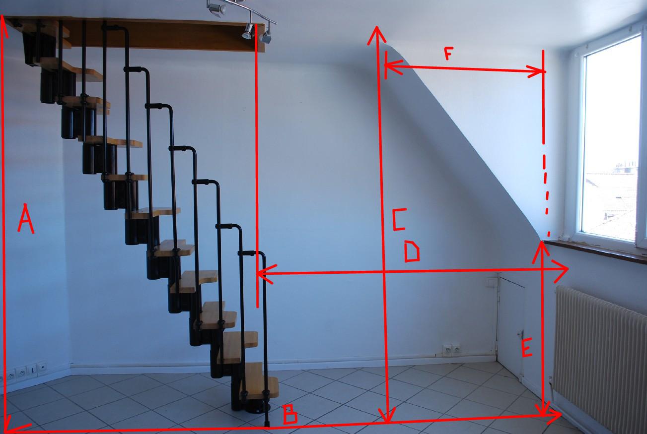 Remplacer un escalier pas d cal s for Escalier pas japonais tournant