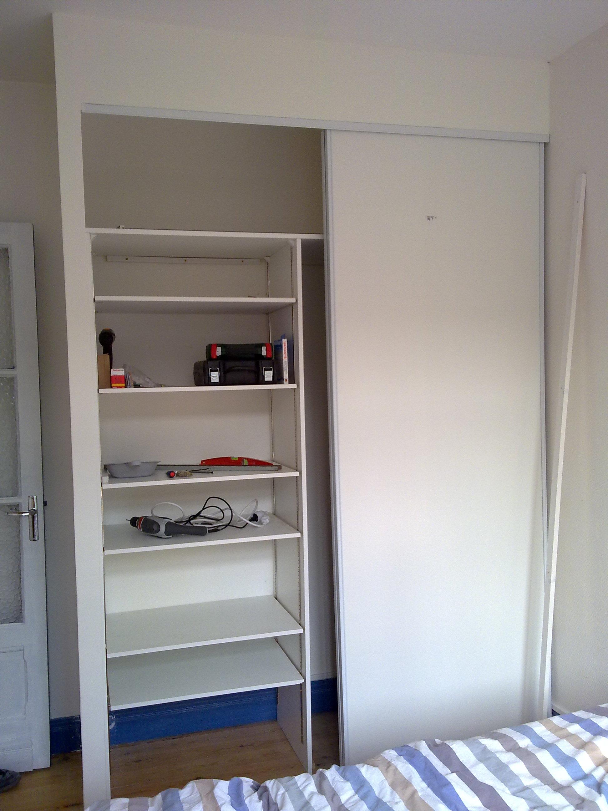 am nagement placard. Black Bedroom Furniture Sets. Home Design Ideas