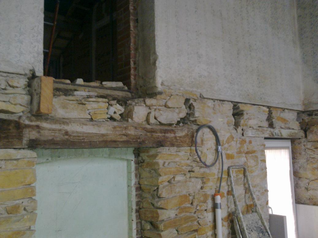 m thode de fixation murali re sur murs en pierres. Black Bedroom Furniture Sets. Home Design Ideas