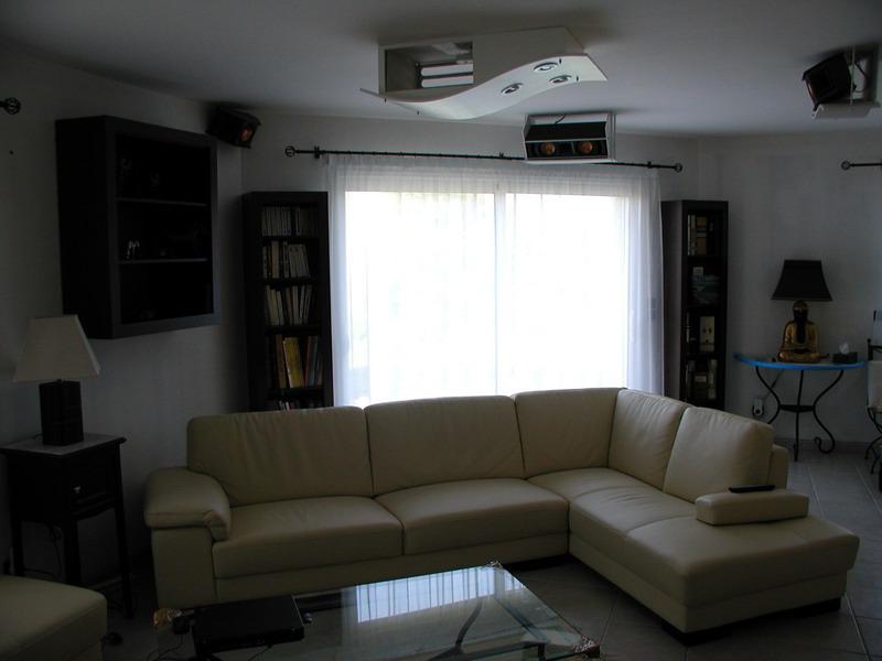 Les Fond Plafond : Creation caisson plafond pour videoprojecteur