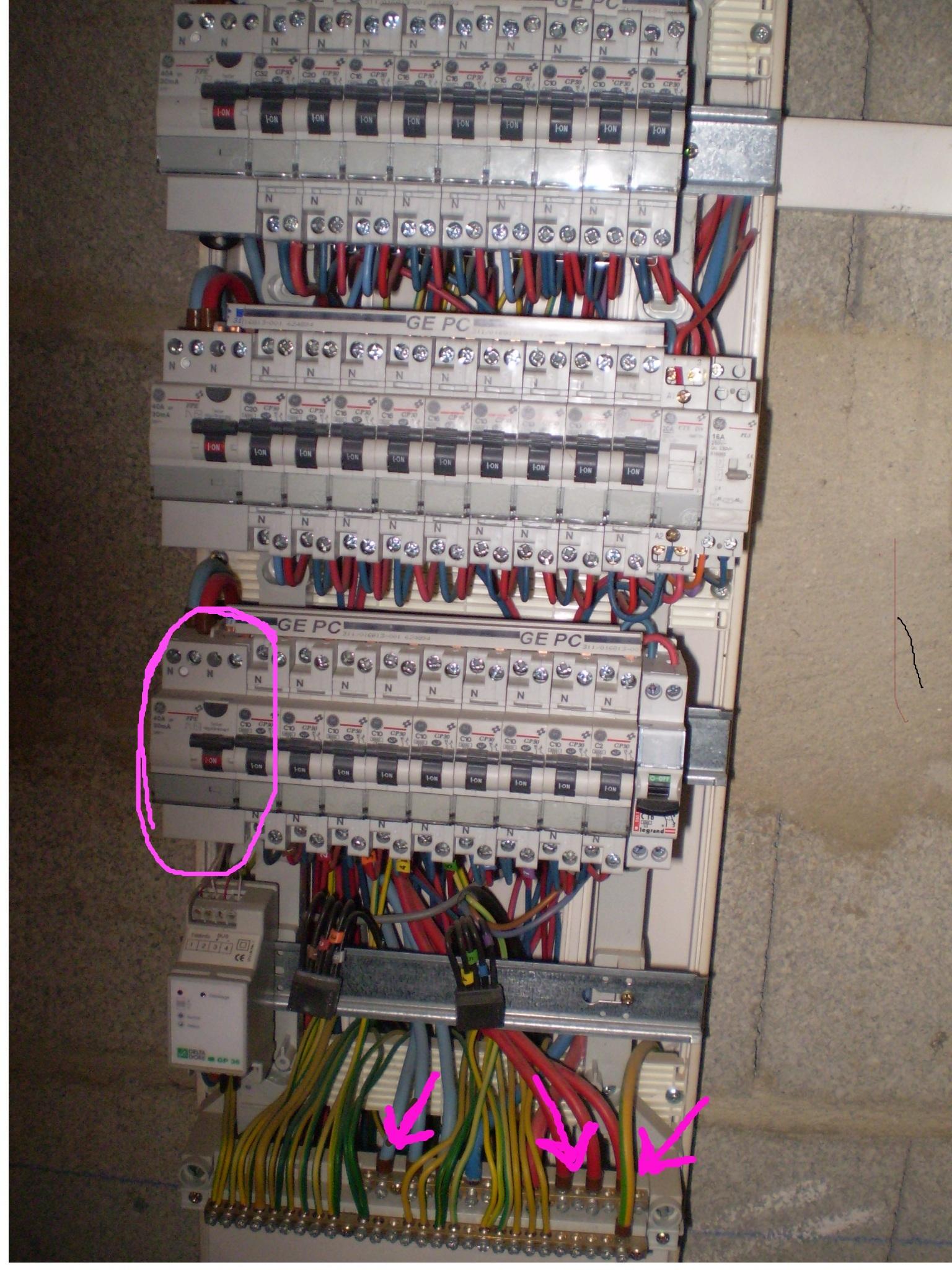 alimenter mon local technique - Combien D Interrupteur Differentiel Dans Une Maison