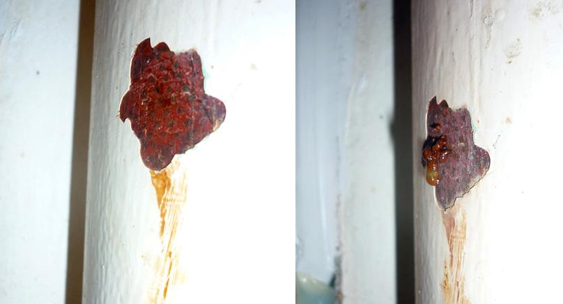 corrosion sur canalisation ancienne. Black Bedroom Furniture Sets. Home Design Ideas