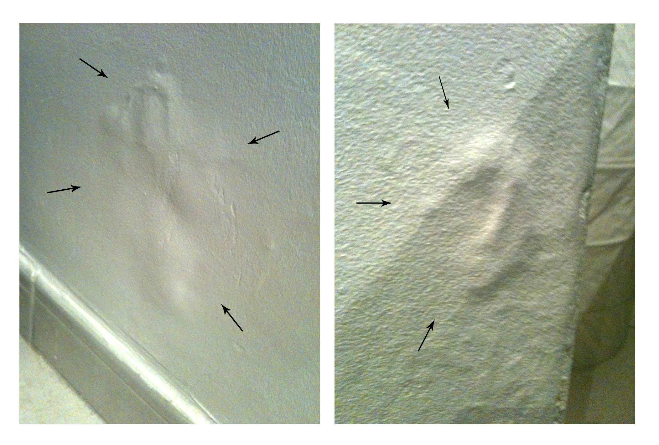 Peinture cloque sur mur en pierre de 60cm - Humidite sur les murs interieurs ...