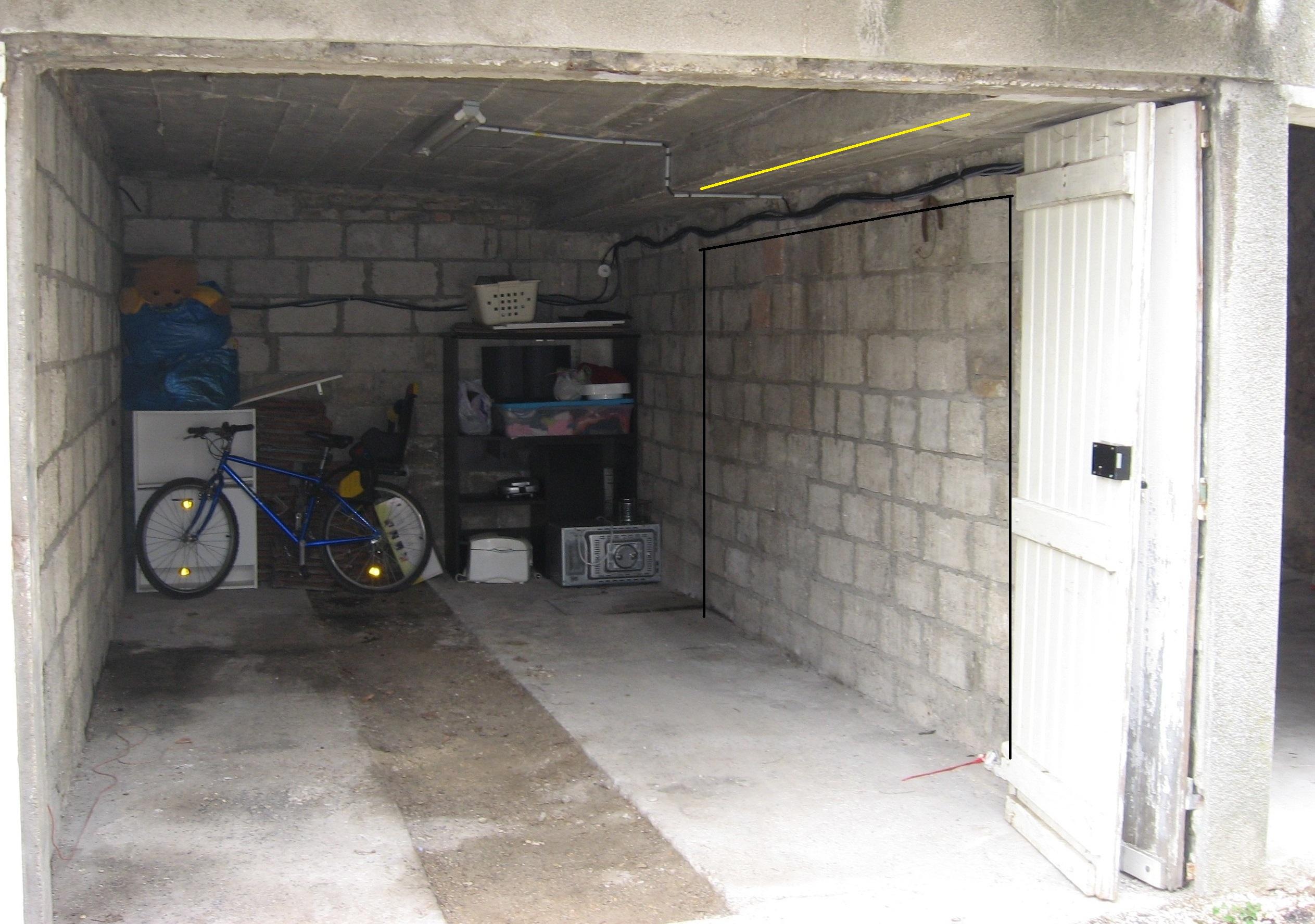 ouvrir un mur porteur d 39 un garage. Black Bedroom Furniture Sets. Home Design Ideas