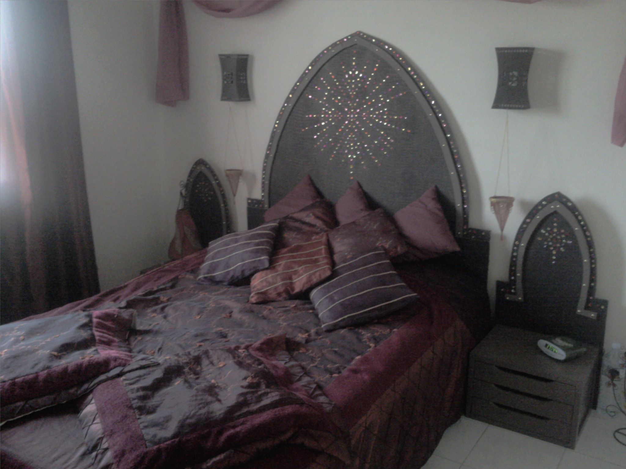 cr er sa t te de lit style marrakech. Black Bedroom Furniture Sets. Home Design Ideas