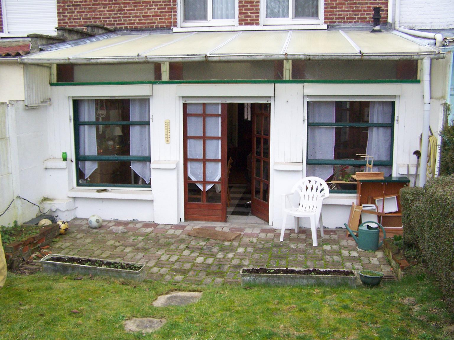 Monter un mur avec baie vitr e - Monter sa veranda soi meme ...