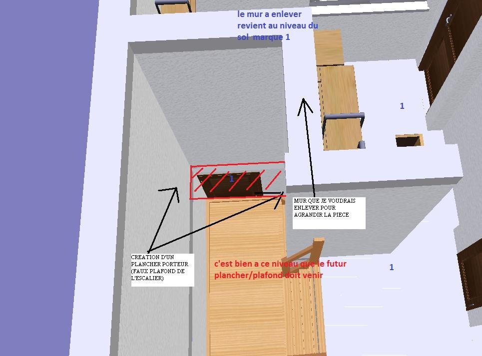 cr er un plancher porteur. Black Bedroom Furniture Sets. Home Design Ideas