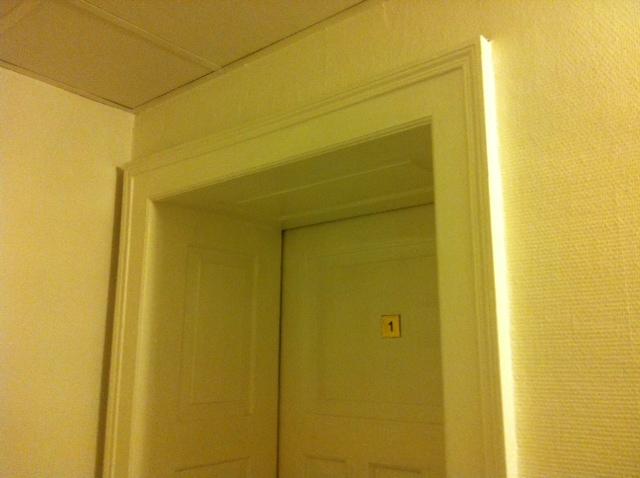 Changer ossature bois ou que la porte for Encadrement de porte interieur