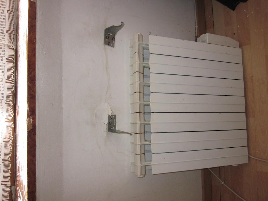 fixation radiateur arrach e dans placo. Black Bedroom Furniture Sets. Home Design Ideas