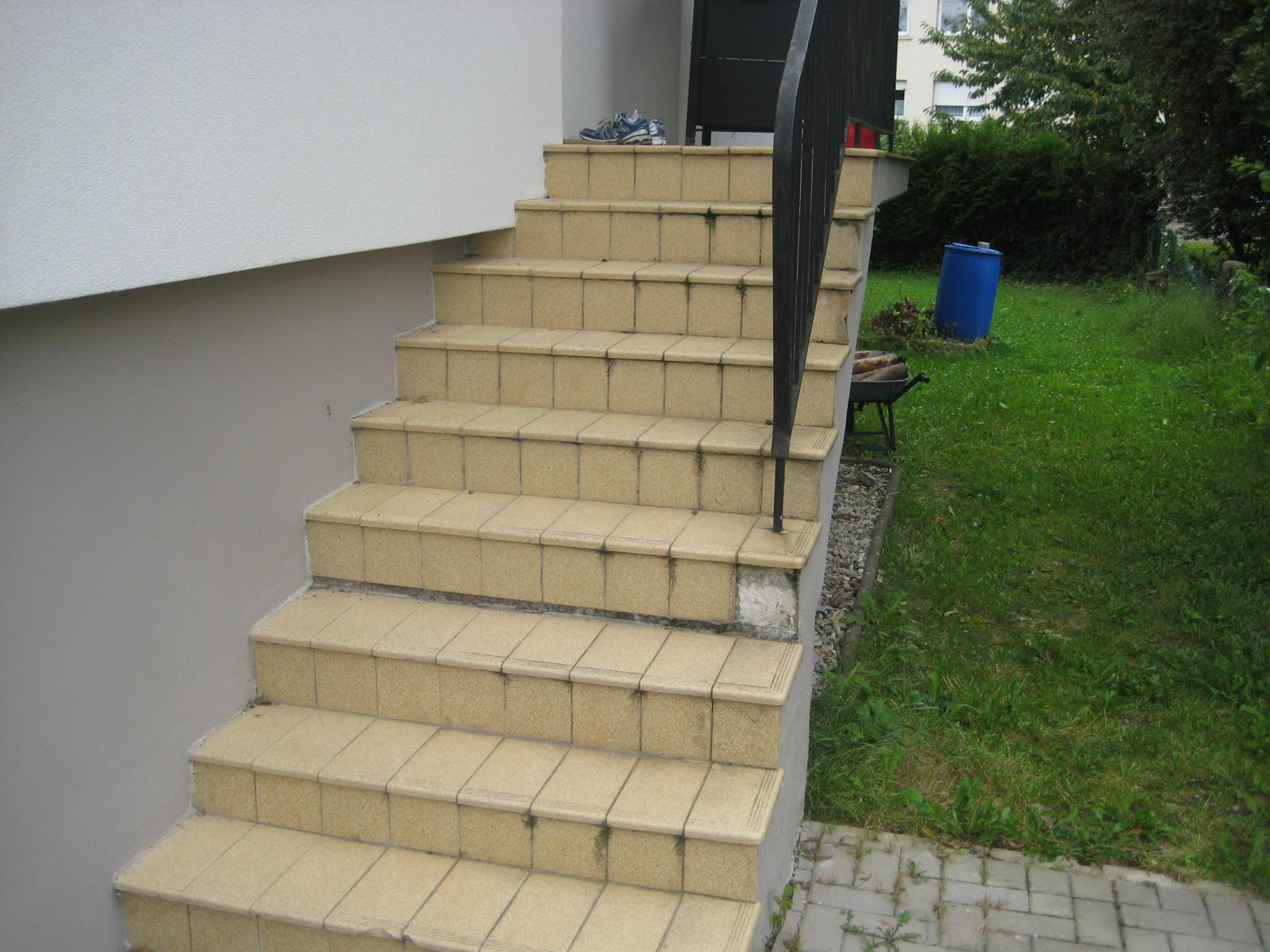 Renovation escalier for Decaper un carrelage encrasse