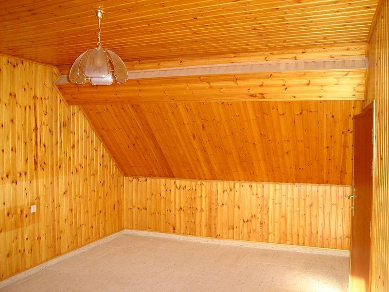 Isolation des murs sous toiture for Chambre sous toiture